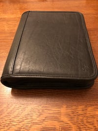 FranklinCovey leather planner (Classic size) Bensville, 20603