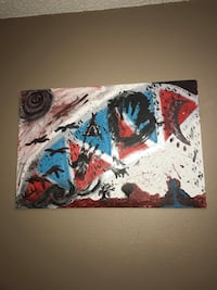 Hand painting on canvas  Lubbock, 79407
