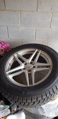 Almost Brand new only used one Winter tires with Alloy Rims for Sale Toronto, M2R