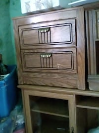 brown wooden 4-drawer chest New Orleans, 70117