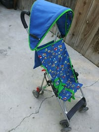 baby's blue and green lightweight stroller Bakersfield, 93307