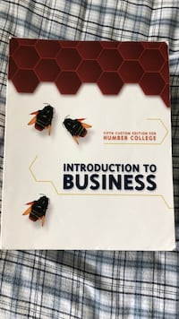 Humber Intro to Business Textbook Vaughan, L4H 0H3