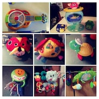 assorted color plush toys collage Merlin, N0P 1W0