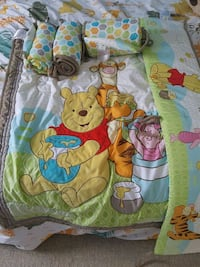Pooh Bear blanket and bumpers Edmonton, T5A 2P4