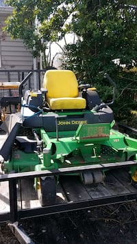 green and yellow John Deere ride on mower Baltimore, 21202