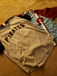 2 Authentic Baseball Jerseys