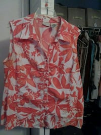 coral tank top. Spring Hill, 34609