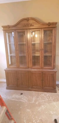 brown wooden china cabinet screenshot Milton, L9T 6K6