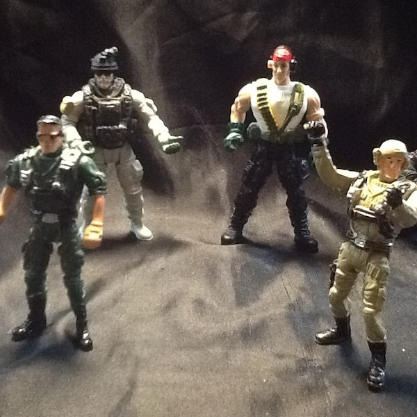 assorted color action figure collection 5