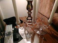 Genuine Crystal Candle Holders  Hummelstown, 17036