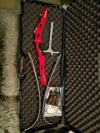 Galaxy recurve bow with a bunch of extras