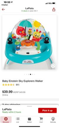 Baby Einstein Baby Walker