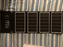 Ravpower portable solar panels