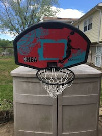 Black NBA Huffy basketball hoop 63 km
