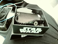 black Star Wars necklace with box