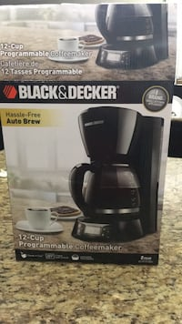black and gray Keurig coffeemaker box Edmonton, T6X 0M3