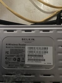 Belkin N router St Catharines, L2M 1P8