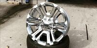 "20""22""24"" chrome wheels for gmc or Chevy all sizes  Warren, 48092"