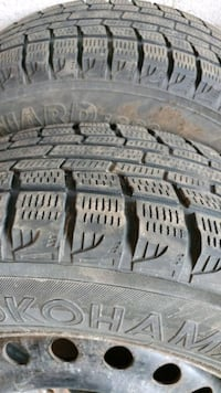 4 winter tires with rims Kitchener, N2C 2P9