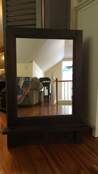 "Pottery barn mirror with hooks, 32""x21"" Orlando, 32806"