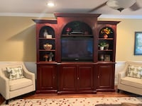 Wall/TV Unit w/Matching Console Table-delivery w/in 40 mls Fairfax, 22033