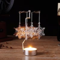 Rotary candle holder Spinning Tealight Candle Montréal, H1R 3L4