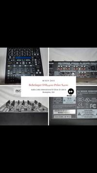 black and gray audio mixer Brampton, L6S 5X8