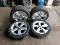 BMW 205-50-17 rims and tires Toronto, M3K 1Z9