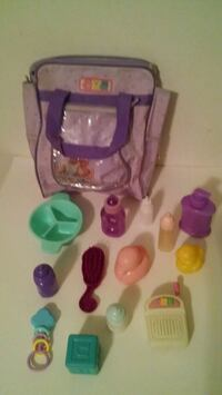 Doll Baby Diaper Bag, Bottles, Accessories Charlotte, 28269