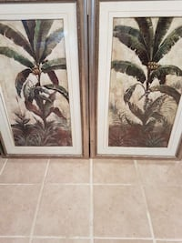 two banana tree paintings Mississauga, L5J