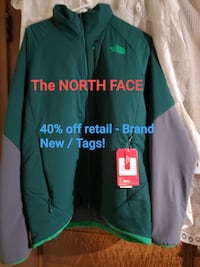 THE NORTH FACE M VENTRIX HIKE JACKET - SIZE LARGE **GREAT XMAS GIFT!**