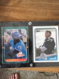 Two baseball player trading cards Calgary, T2Z