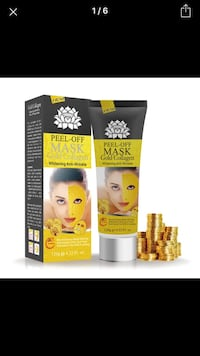 Golden Face Peel off Musk Toronto, M1P