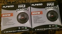 Pyle 2 speakers new in box  Bronx, 10456