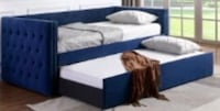 Trina Navy Twin Daybed with Trundle | 5335 1201 mi