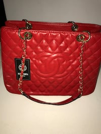 Red Chanel Handbag Ottawa