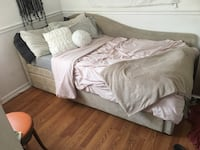 Twin Bed Frame/ Trundle and One Box Spring Mattress Ellicott City, 21043