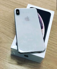 silver iPhone X with box Virginia