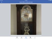 Beautiful chime wall clock BRAMPTON
