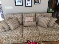 Textured Jacquard Living Room Couch Smithtown