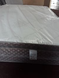 white and brown mattress
