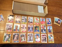 2100+ topps 1987 baseball cards with stars some 1988 Donruss included   Northport, 11768