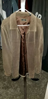 brown suede leather jacket Hacienda Heights, 91745