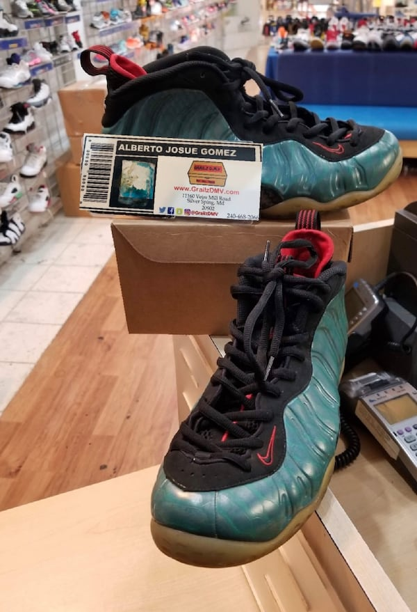 Nike Foamposite One PRM Gone Fishing Size 9.5 85408fbe-3096-4247-8a35-0bb8324f24f1