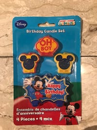 Mickey Mouse Birthday Candles Mississauga