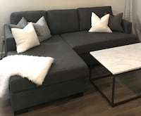 Gluxstein Home Sofa with oversized Chaise lounge Toronto, M5J 2Y4