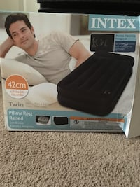 Twin pillow raised airbed  Columbia, 21044