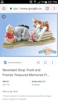Winnie the Pooh Collectable London, N6E 2Y8