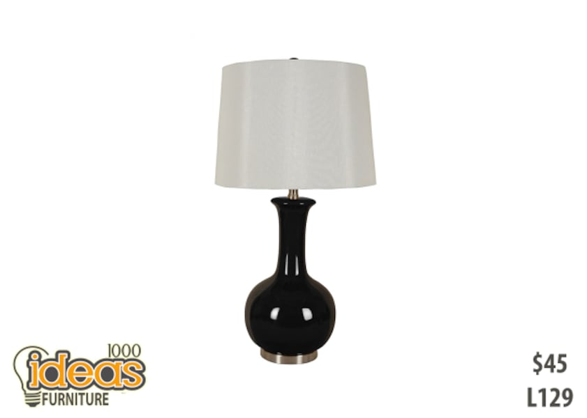 Black and white table lamp Unit  8ee3a495-f797-4200-b771-b114811425f6