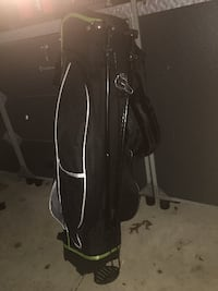 TiTech Carry Lite Full-Size Golf Stand Bag w/ Padded Shoulder Straps  Mountain Top